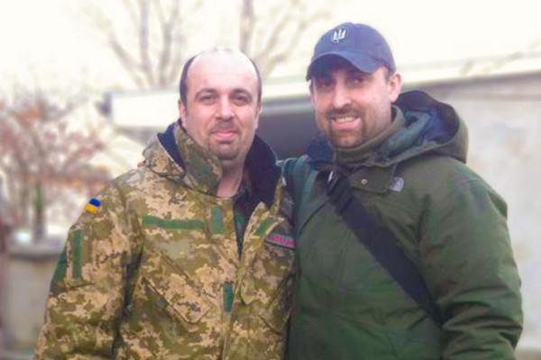 Воєнні капелани в зоні АТО: Вячеслав Бевз та Володимир Бевз