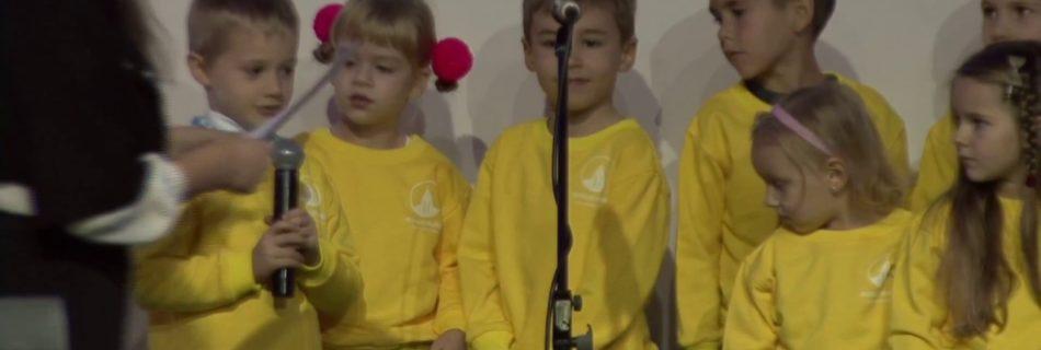 Виступ дітлахів на 25-річчя церкви, 29.10.2017 р.