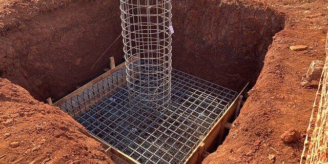 Закладання основ при будівництві